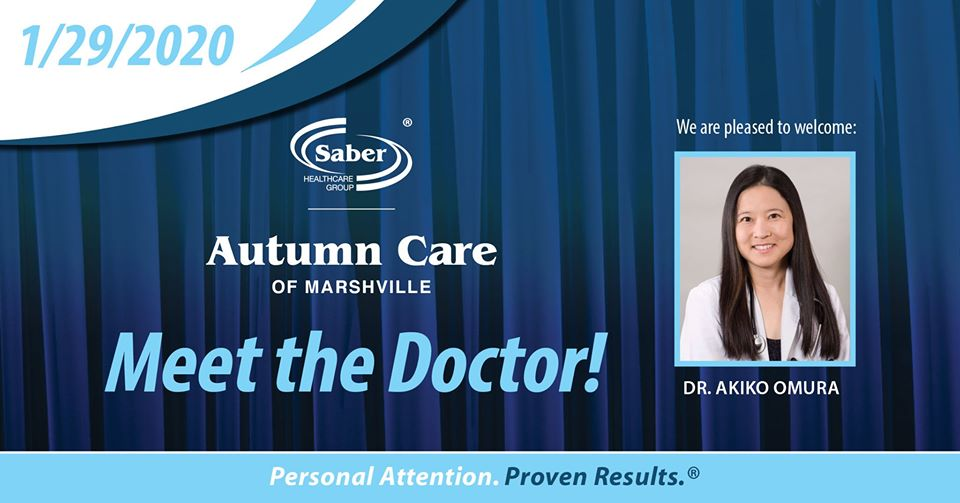 Meet the Doctor at Autumn Care of Marshville