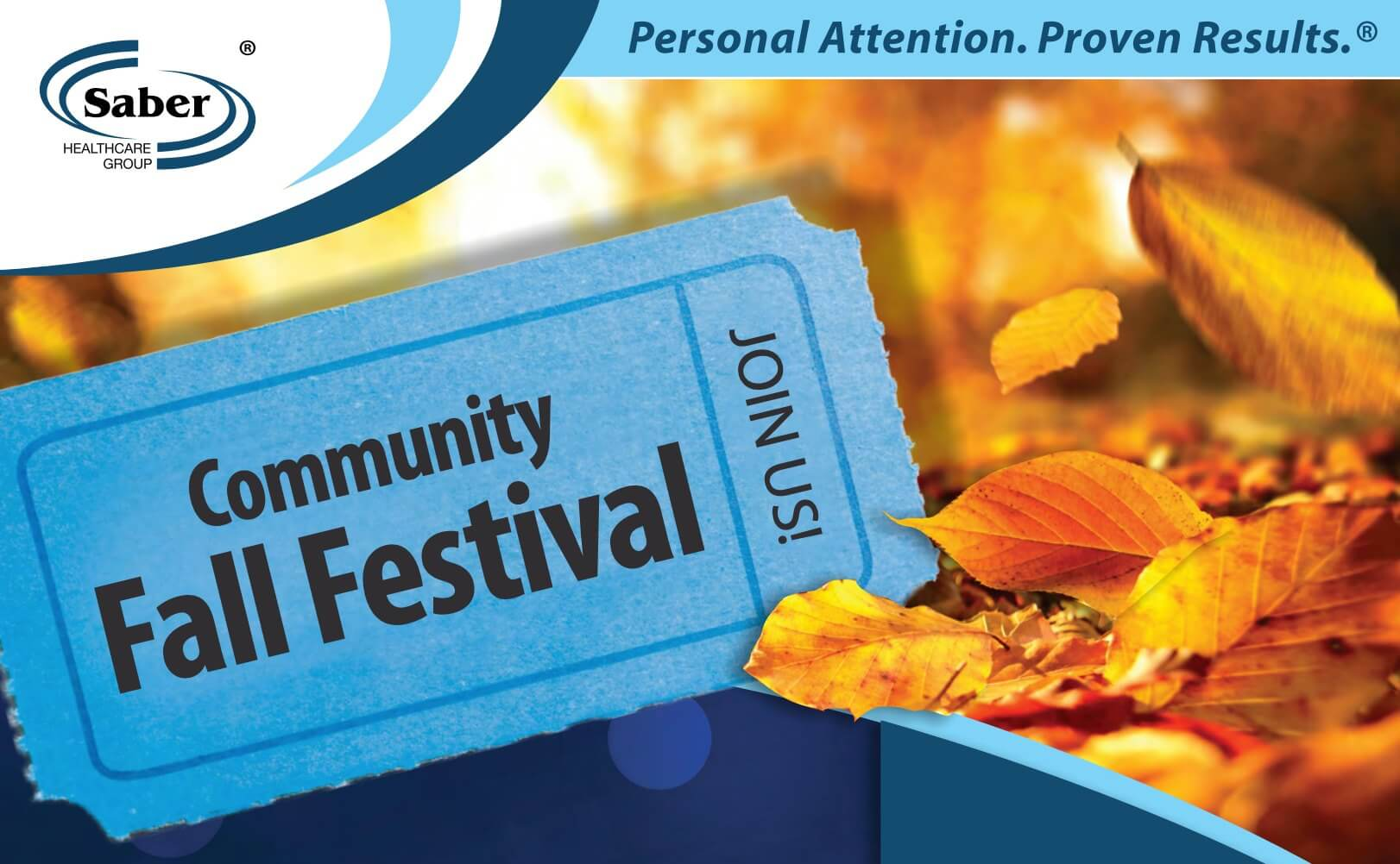 Community Fall Festival at Brunswick Health and Rehab