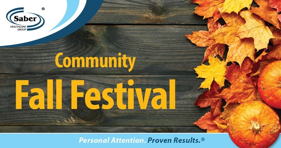 Annual Community Fall Festival at Green Leaf Care Center