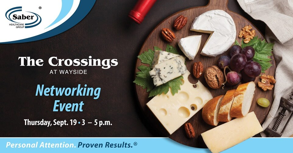 Wine, Cheese and Networking Event at The Crossings at Wayside