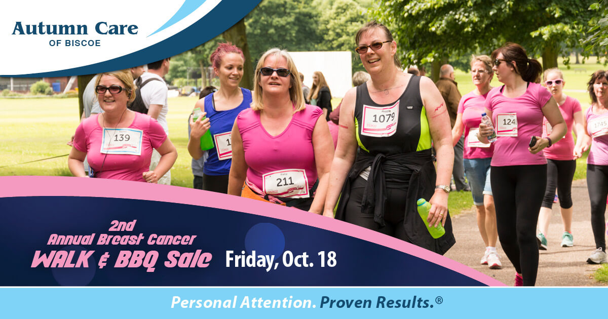 Autumn Care of Biscoe: 2nd Annual Breast Cancer Walk and BBQ Sale