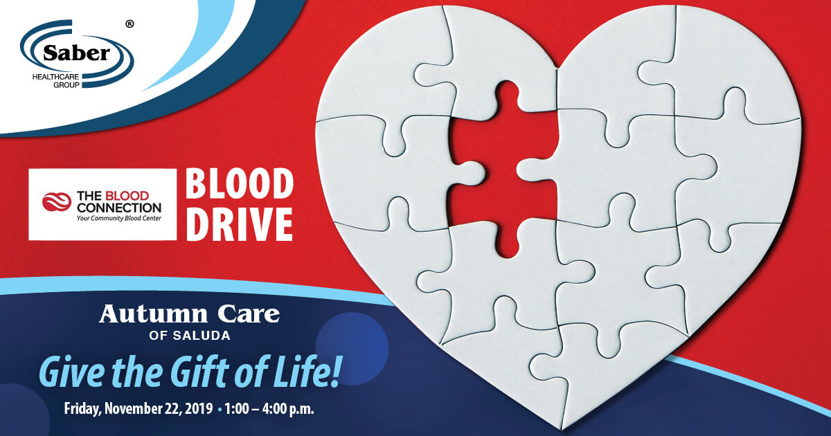 Blood Drive at Autumn Care of Saluda