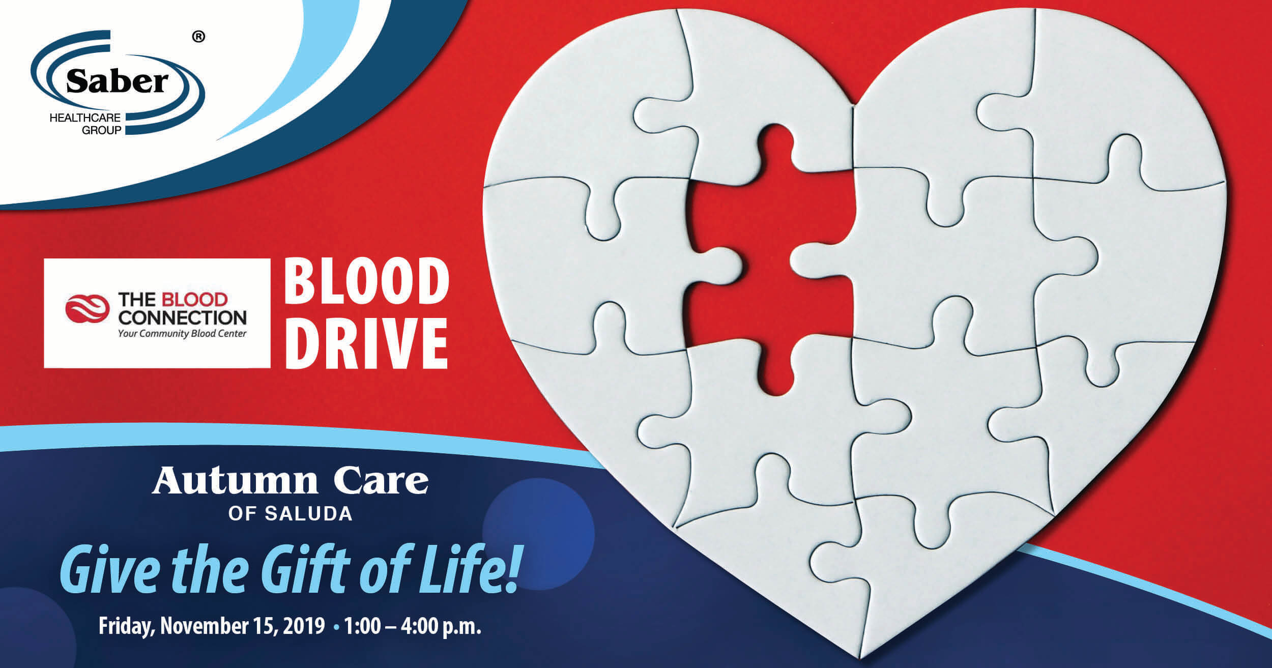 November Blood Drive at Autumn Care of Saluda