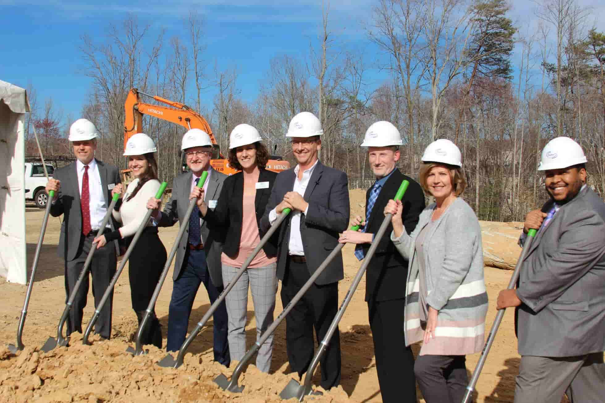 Breaking Ground on a New Health & Rehabilitation Center in Virginia