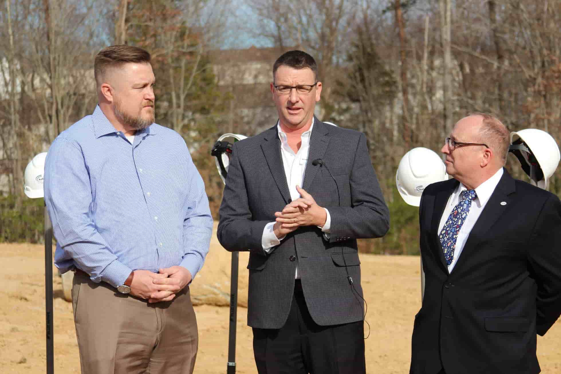 Executives from Saber Healthcare Group joined local officials to break ground on Saber's new healthcare facility, Berea Health & Rehabilitation Center, in Fredericksburg.